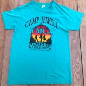 Camp Jewell YMCA camping vtg tee vintage T-shirt